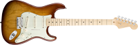 Fender American Deluxe Strat® Ash, Maple Fretboard, Tobacco Sunburst