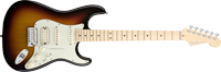American Deluxe Strat® HSS, Maple Fretboard, 3-Color SunburstAmerican Deluxe Strat® HSS, Maple Fretboard, 3-Color Sunburst