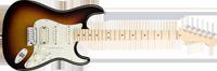 American Deluxe Strat® HSS, Maple Fretboard, 3-Color SunburstAmerican Deluxe Strat® HSS, Maple Fretboard, 3-Color Sunburst