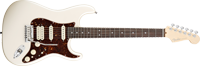 Fender American Deluxe Strat® HSS, Rosewood Fretboard, Olympic Pearl