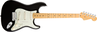 Fender American Deluxe Strat® V Neck, Maple Fretboard, Black