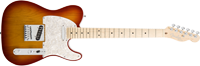 Fender American Deluxe Telecaster®, Maple Fretboard, 3-Color Sunburst