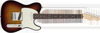 Fender American Deluxe Telecaster®, Rosewood Fretboard, 3-Color Sunburst