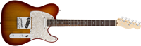 Fender American Deluxe Telecaster®, Rosewood Fretboard, Aged Cherry Sunburst