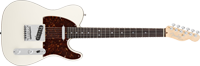 Fender American Deluxe Telecaster®, Rosewood Fretboard, Olympic Pearl