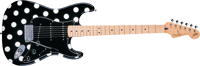 Fender Buddy Guy Standard Stratocaster®, Maple Fretboard, Polka Dot Finish