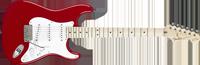 Fender Eric Clapton Stratocaster, Maple Fretboard, Torino Red