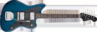 Fender Lee Ranaldo Jazzmaster®, Rosewood Fretboard, Sapphire Blue Transparent