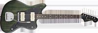 Fender Thurston Moore Jazzmaster®, Rosewood Fretboard, Forest Green Transparent