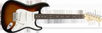 Fender American Standard Stratocaster®, Rosewood Fretboard, 3-Color Sunburst