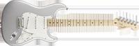Fender American Standard Stratocaster®, Maple Fretboard, Blizzard Pearl
