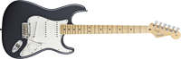 Fender American Standard Stratocaster®, Maple Fretboard, Charcoal Frost Metallic