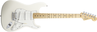 Fender American Standard Stratocaster®, Maple Fretboard, Olympic White