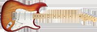 Fender American Standard Stratocaster®, Maple Fretboard, Sienna Sunburst