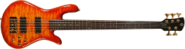 Spector Legend Custom 5 Amberburst