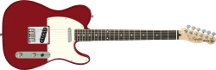 Squier by Fender Affinity Telecaster Metallic Red