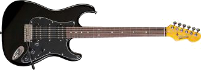 Blade PTH-3 Player Texas Black