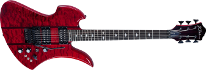 B.C Rich Mockingbird ST Trans Red