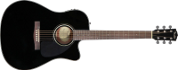 Fender CD-60 CE BK
